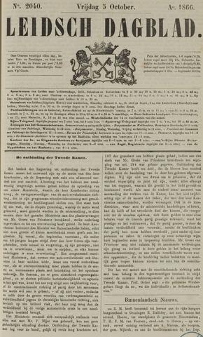 Leidsch Dagblad 1866-10-05