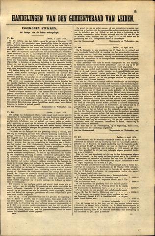 Handelingen van de Raad 1873-04-07