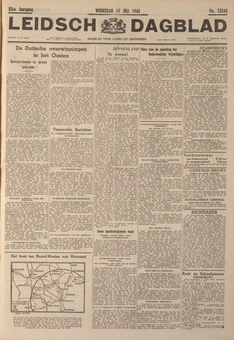 Leidsch Dagblad 1942-07-15