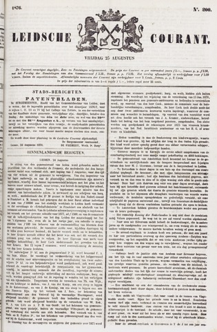 Leydse Courant 1876-08-25