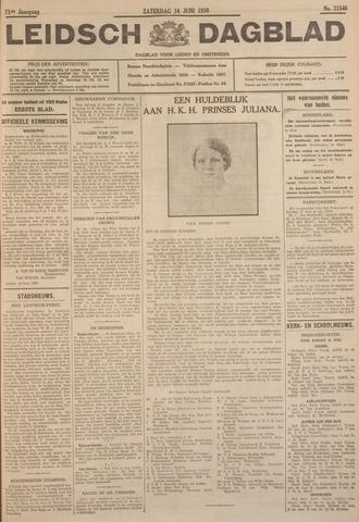 Leidsch Dagblad 1930-06-14