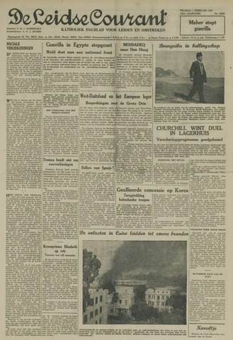 Leidse Courant 1952-02-01