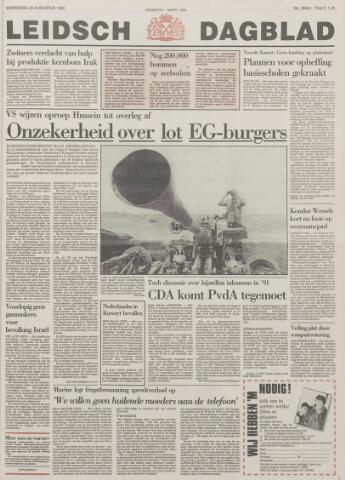 Leidsch Dagblad 1990-08-22