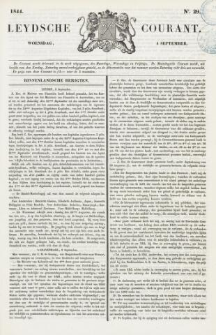 Leydse Courant 1844-09-04