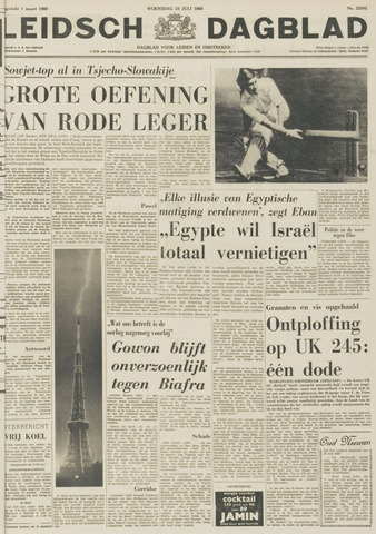 Leidsch Dagblad 1968-07-24
