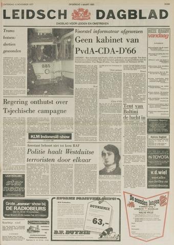 Leidsch Dagblad 1977-11-12