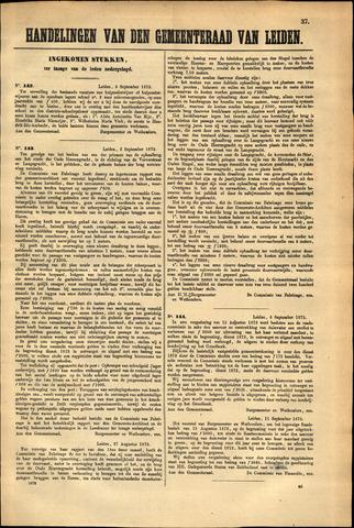 Handelingen van de Raad 1873-09-03