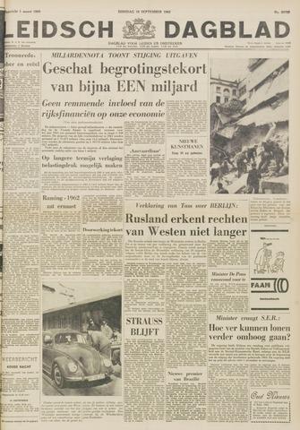 Leidsch Dagblad 1962-09-18