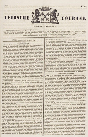 Leydse Courant 1875-02-23