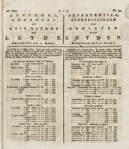 Leydse Courant 1812-03-11