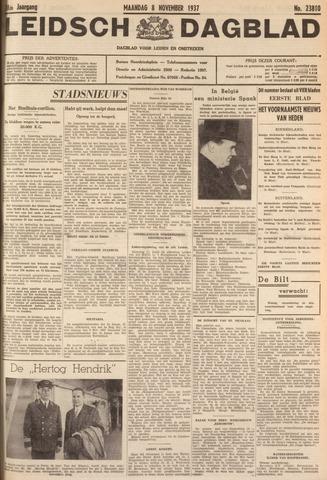 Leidsch Dagblad 1937-11-08