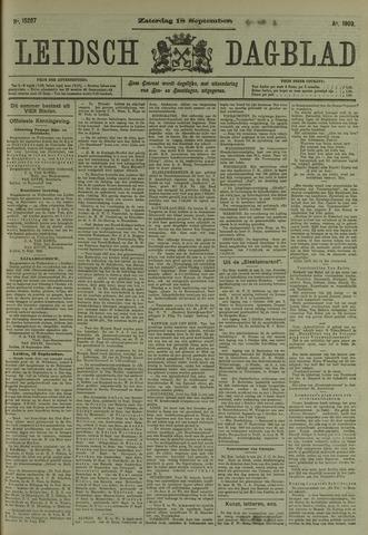 Leidsch Dagblad 1909-09-18
