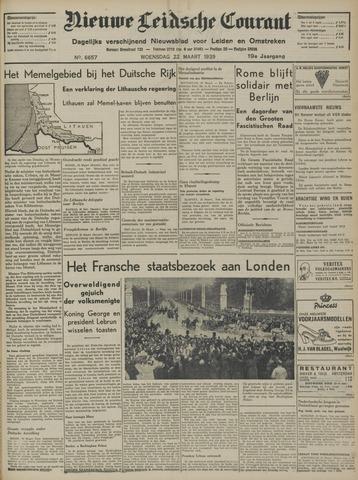 Nieuwe Leidsche Courant 1939-03-22
