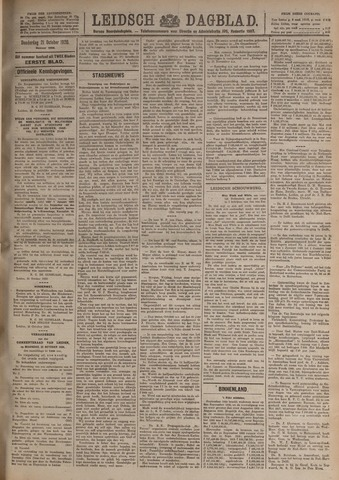 Leidsch Dagblad 1920-10-21