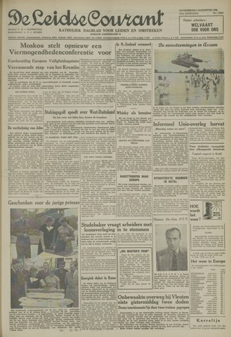 Leidse Courant 1954-08-05