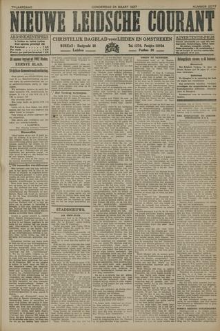 Nieuwe Leidsche Courant 1927-03-24
