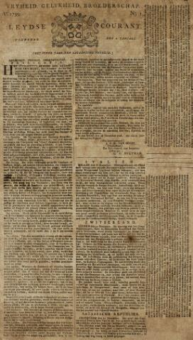 Leydse Courant 1799