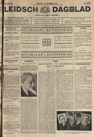 Leidsch Dagblad 1932-12-24