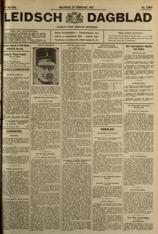 Leidsch Dagblad 1932-02-29