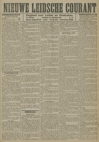 Nieuwe Leidsche Courant 1923-01-23
