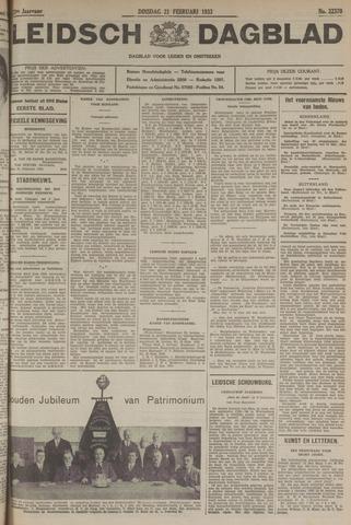 Leidsch Dagblad 1933-02-21