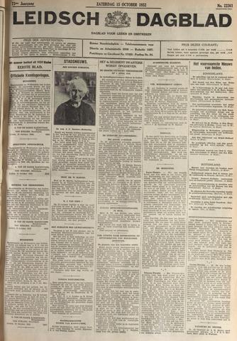 Leidsch Dagblad 1932-10-15