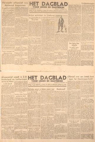 Dagblad voor Leiden en Omstreken 1944-11-18