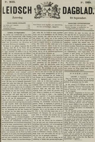 Leidsch Dagblad 1868-09-12