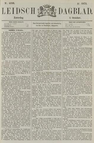 Leidsch Dagblad 1873-10-04