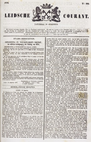 Leydse Courant 1876-08-19