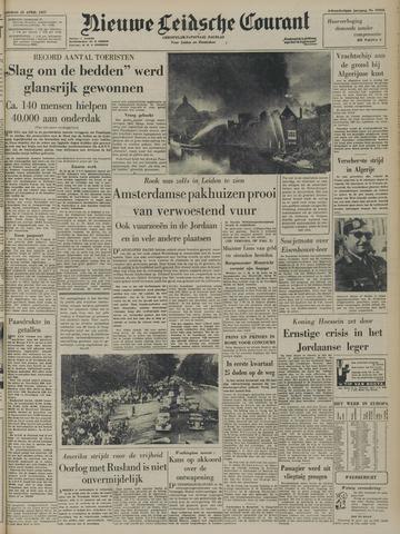 Nieuwe Leidsche Courant 1957-04-23