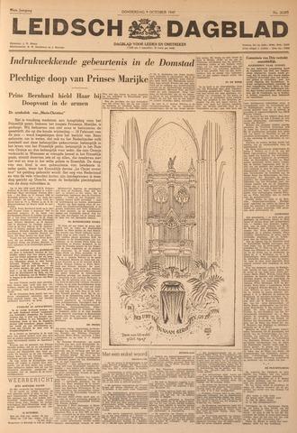 Leidsch Dagblad 1947-10-09