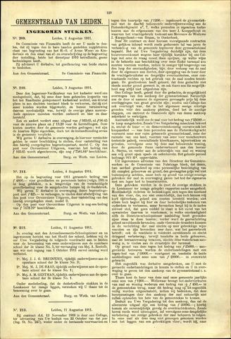 Handelingen van de Raad 1911-08-02