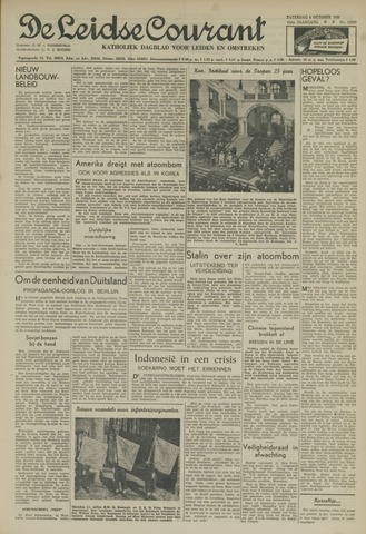 Leidse Courant 1951-10-06