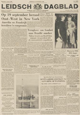 Leidsch Dagblad 1961-08-29