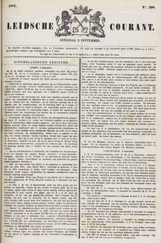 Leydse Courant 1882-09-05