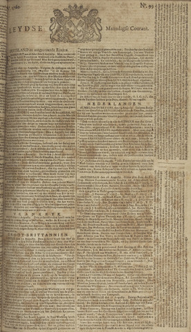 Leydse Courant 1760-08-18