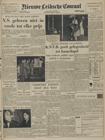 Nieuwe Leidsche Courant 1957-09-11