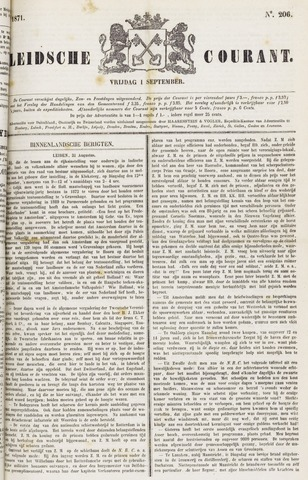 Leydse Courant 1871-09-01