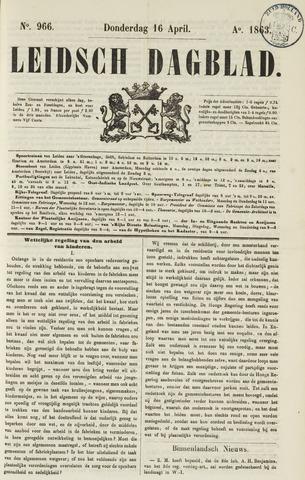Leidsch Dagblad 1863-04-16