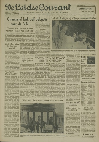 Leidse Courant 1960-09-02