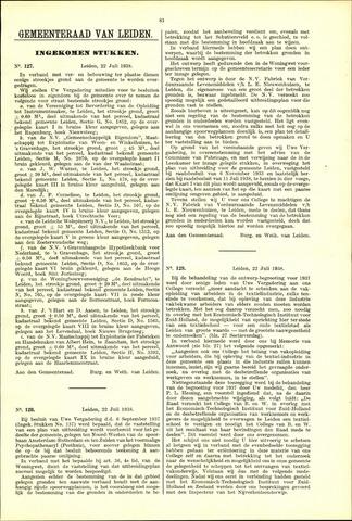 Handelingen van de Raad 1938-07-22