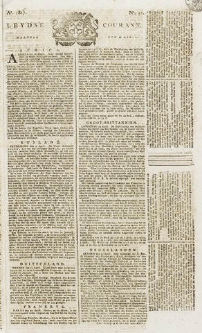 Leydse Courant 1817-04-28