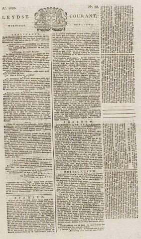 Leydse Courant 1820-06-07
