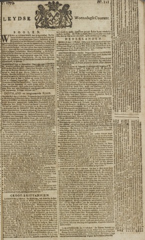 Leydse Courant 1771-10-09