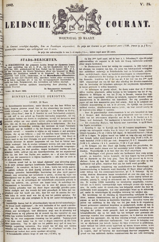 Leydse Courant 1882-03-29