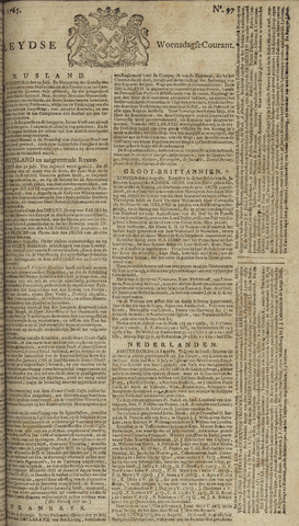 Leydse Courant 1765-08-14