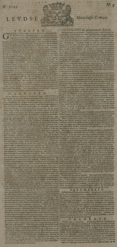 Leydse Courant 1743-01-07
