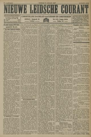 Nieuwe Leidsche Courant 1927-01-18