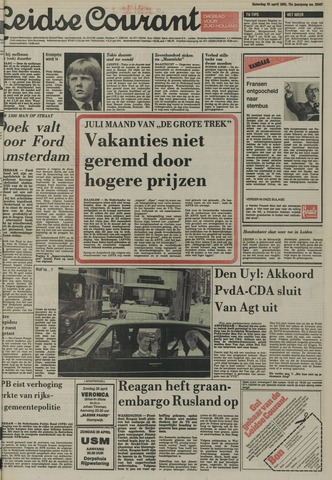 Leidse Courant 1981-04-25